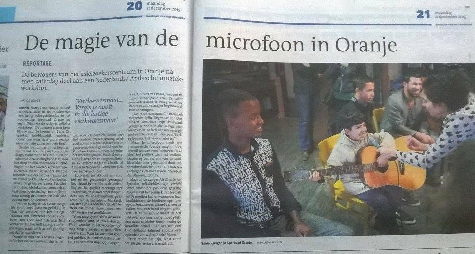krant oranje 2